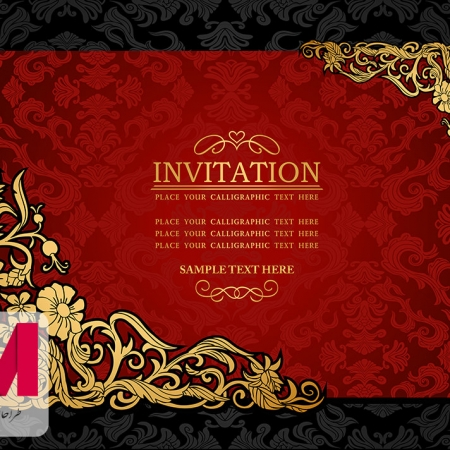 Invitation Cards www.Modernera.ir  450x450 - وکتور کارت دعوت