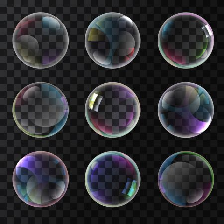 Colorful soap bubbles www.Modernera.ir  450x450 - وکتور حباب