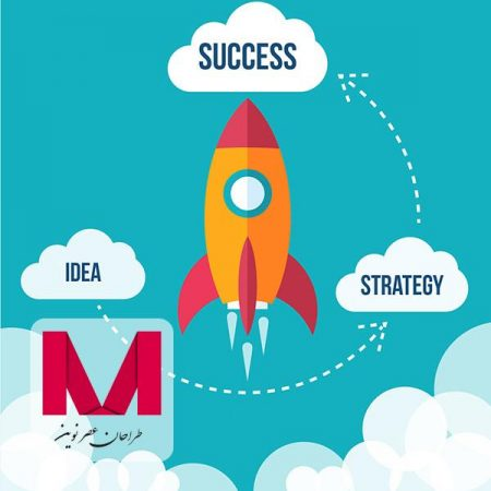 Flying rocket success diagram www.Modernera.ir  450x450 - وکتور پرتاب موشک
