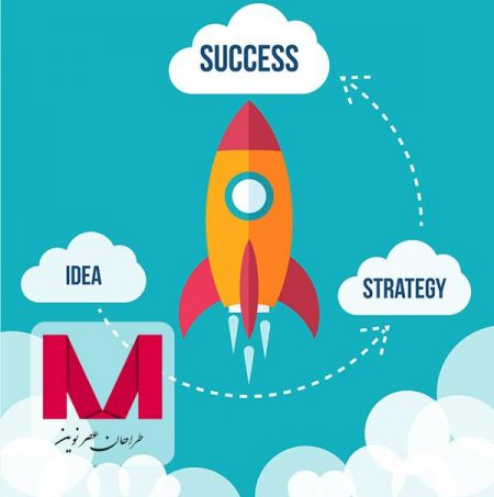 Flying rocket success diagram www.Modernera.ir  450x453 - وکتور پرتاب موشک