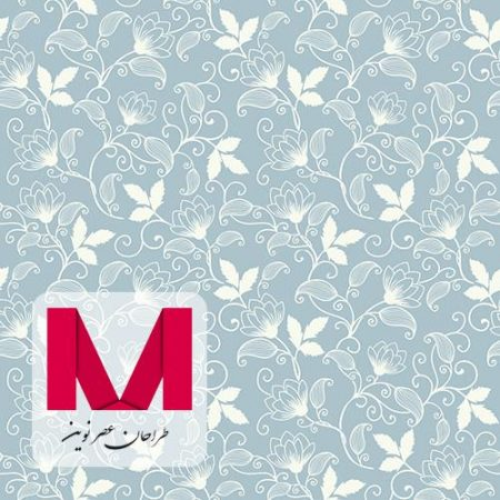 Vector flower seamless Photoshop Pattern www.Modernera.ir  450x450 - پترن فتوشاپ گل به همراه وکتور