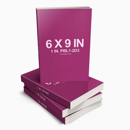 004 6X9 Stacked Paperback books COVERVAULT www.Modernera.ir  450x450 - موکاپ کتاب شومیز / 004