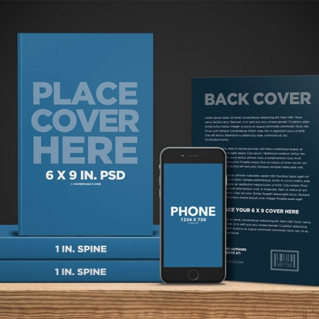045 1 Book Promo Template with Phone Ereader Mockup COVERVAULT www.Modernera.ir  450x450 - کتاب فروشگاه اَبری + 99 هزار تومان هدیه
